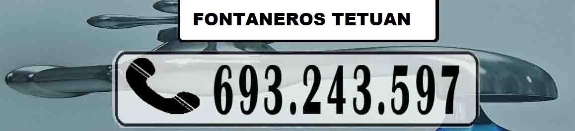 Fontaneros Tetuan Madrid Urgentes